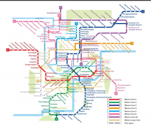 chongqing metro map