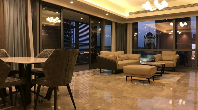 rent an apartment in Raffles city