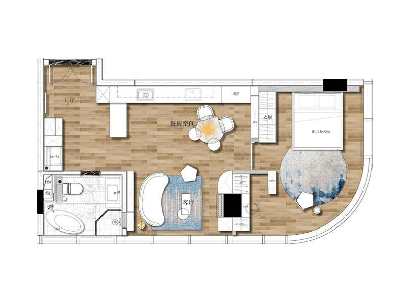 Palm Spring-Mercy apartment